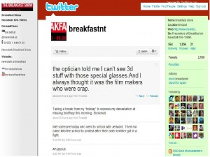 Newstalk Twitter Profile